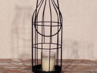 Wire Frame Candle Lanterns / Qty 24