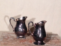 Silver Water Pitchers / Qty 2