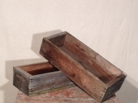 Rustic Wooden Troughs / Qty 16