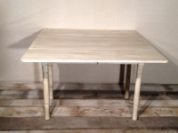 Antique Farm Table Extended