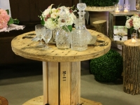 Industrial Wooden Tables / Qty 6