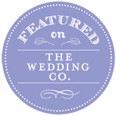 Featured on the Wedding Co.
