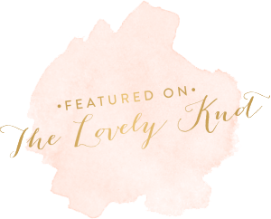Featured on the Lovely Knot