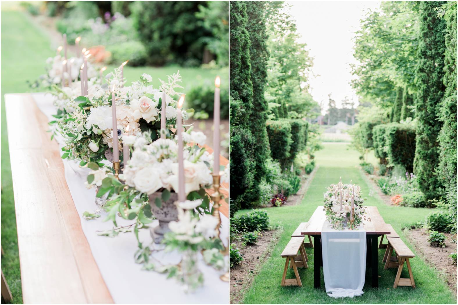 intimate garden wedding summer celebration