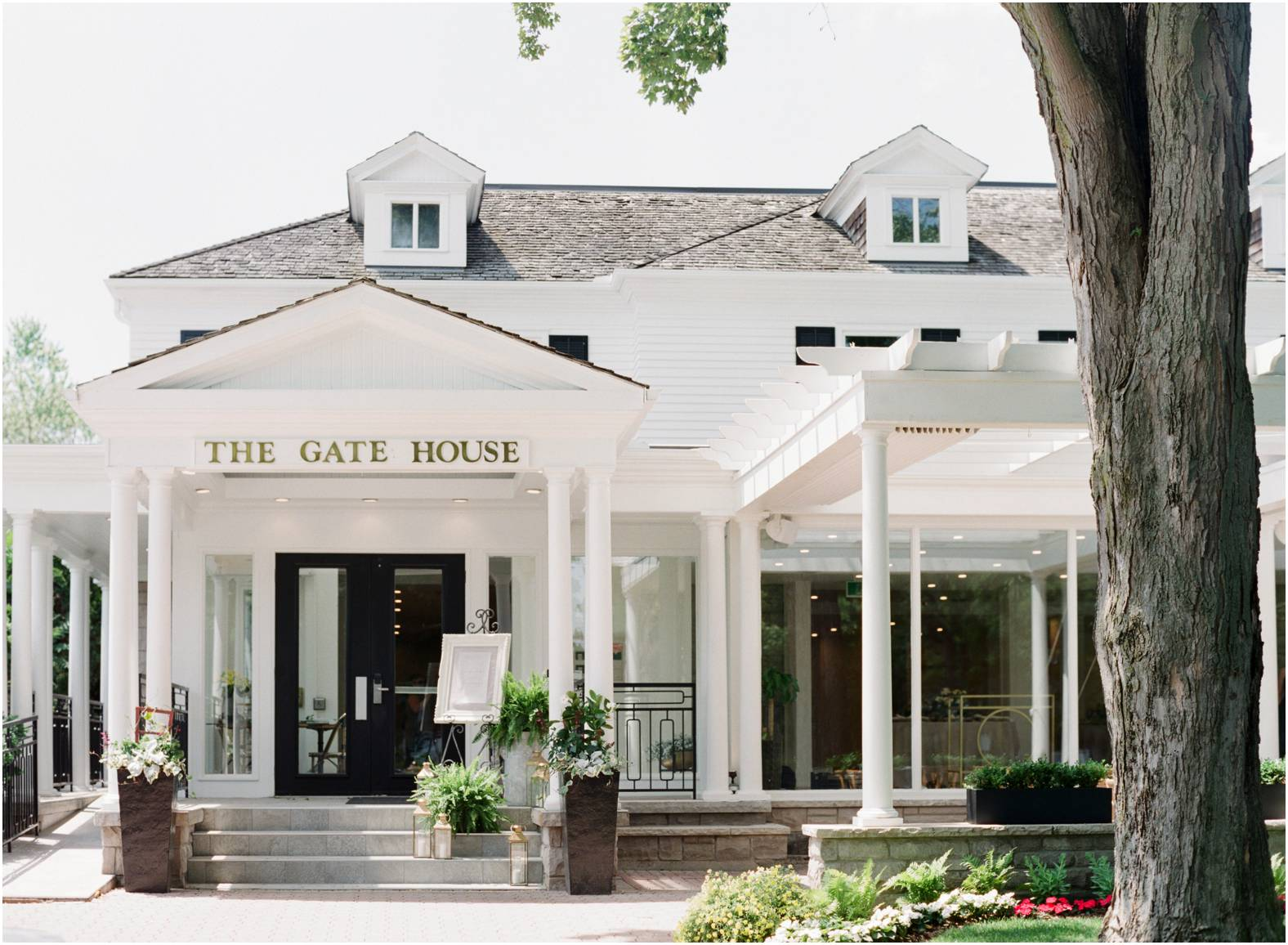 The Gate House luxury wedding venue now open in Niagara on the Lake